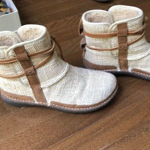 UGG Shoes - Fabric Uggs. Never worn perfect condition.